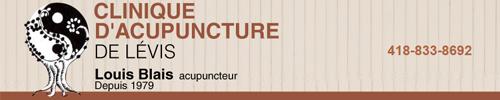 Clinique d'acupuncture de Lévis