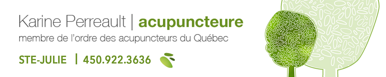 Acupuncture Karine Perreault