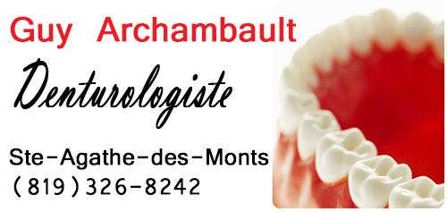Guy Archambault Denturologiste
