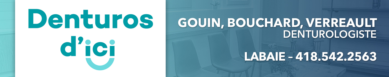 Denturos d'ici - Kathleen Gouin, Carolyne Bouchard et Marie-Érick Verreault