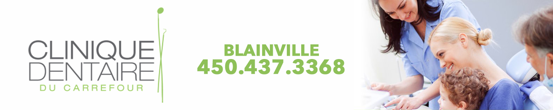 Clinique Dentaire du Carrefour de Blainville Inc. - Dentiste Blainville