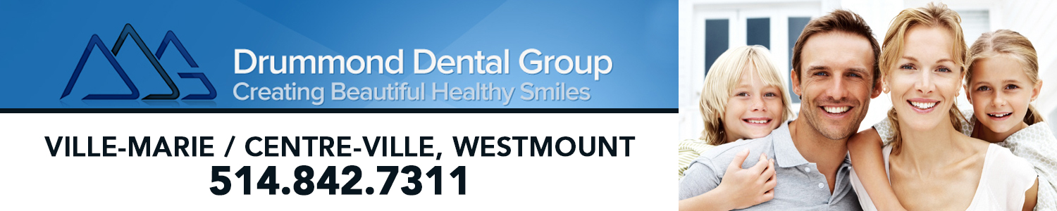 Groupe Dentaire Drummond  | Dentiste Centre-Ville Montreal