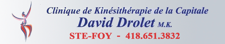 David Drolet - Kinésithérapeute et orthothérapeute