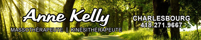 Anne Kelly Massothérapeute- Kinésithérapeute