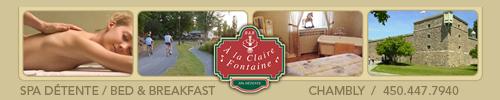 À La Claire Fontaine spa détente
