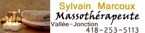 Massothérapeute Sylvain Marcoux