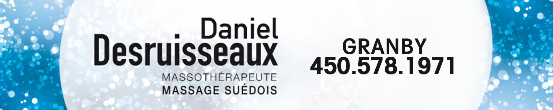 Massothérapie Daniel Desruisseaux