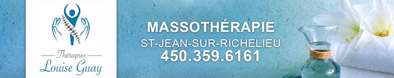 Thérapies Louise Guay - Massothérapie - St-Jean-sur-Richelieu