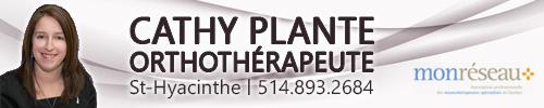 Cathy Plante Orthothérapeute