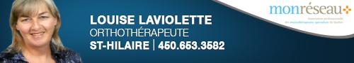 Louise Laviolette Orthothérapeute