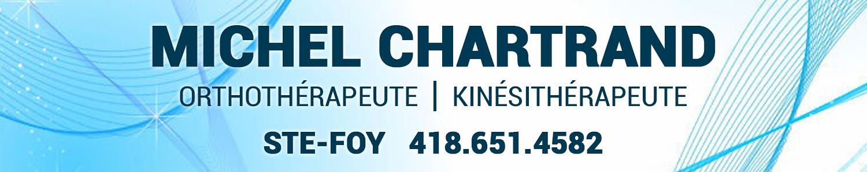 Michel Chartrand orthotérapeute masso kinésithérapeute