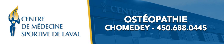 Centre de Médecine sportive de Laval - Ostéopathie