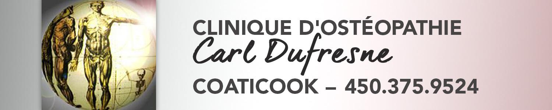 Clinique d'ostéopathie Carl Dufresne
