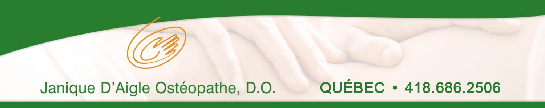 Janique D'Aigle Ostéopathe D.O.