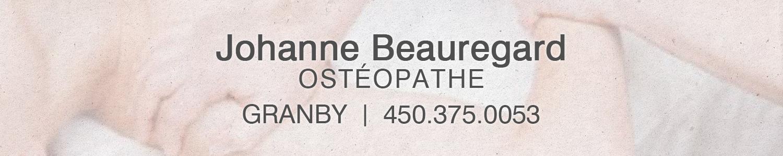 Johanne Beauregard Ostéopathe