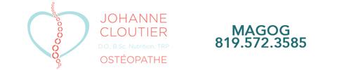 Johanne Cloutier, ostéopathe DO