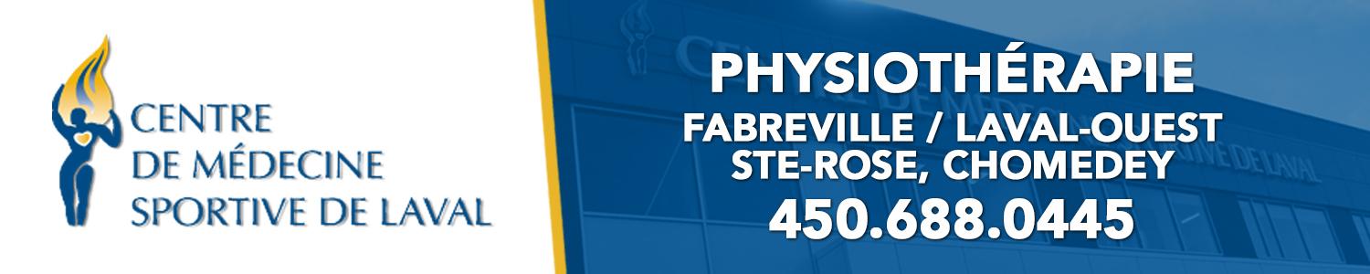 Centre de Médecine Sportive de Laval - Physiothérapie