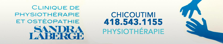 Clinique de Physiothérapie et Ostéopathie Sandra Laberge