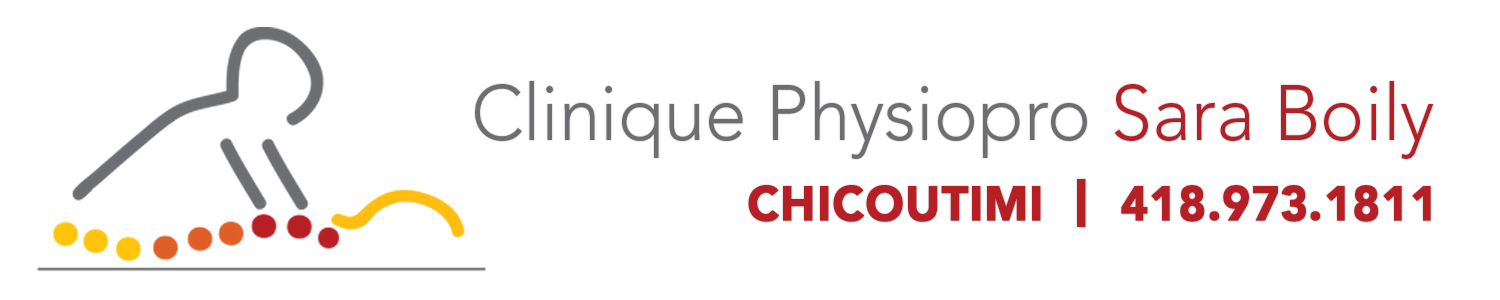 Clinique Physiopro Sara Boily physiothérapeute