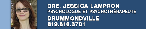 Dre. Jessica Lampron, psychologue et psychothérapeute