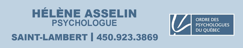 Hélène Asselin psychologue