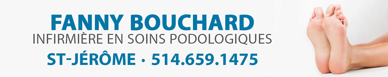 Fanny Bouchard-Infirmière en soins podologiques