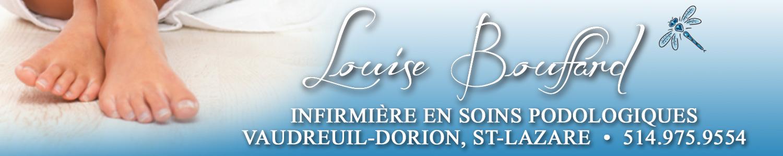 Louise Bouffard - infirmière en soins podologiques