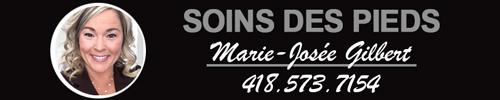 Soins des pieds<br/>Marie-Josée Gilbert