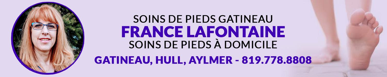 Soins de Pieds Gatineau - France Lafontaine Infirmière