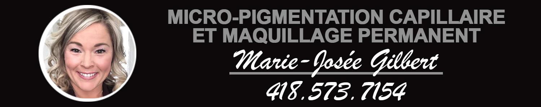 Micropigmentation capillaire et maquillage permanent Marie-Josée Gilbert